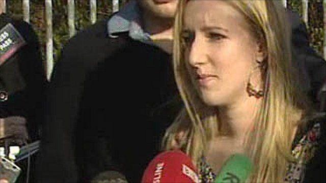 Lauren Bradford, daughter of Lesley Howell