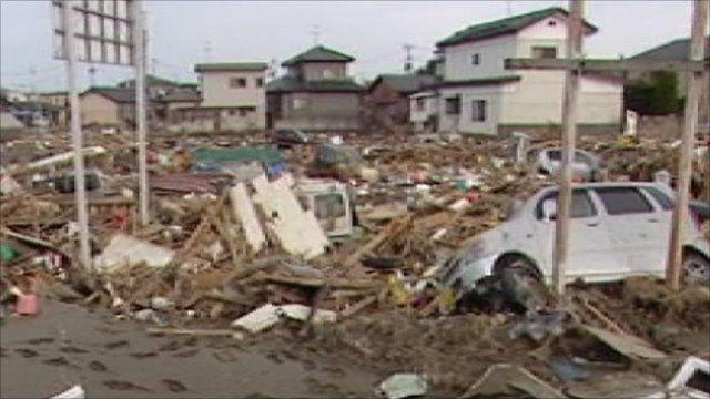 Devastation in Yuriage