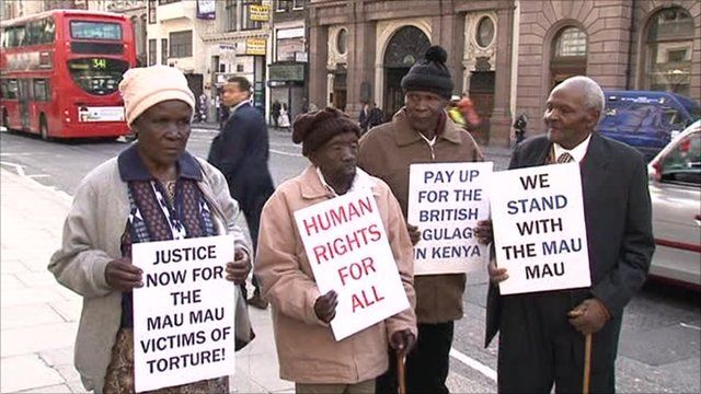 Kenyans who allege they were tortured