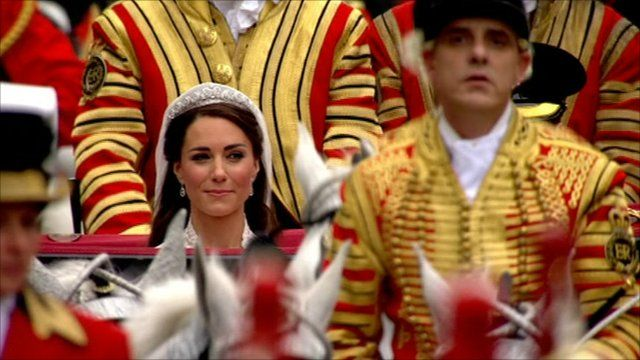 The Duchess of Cambridge (left)