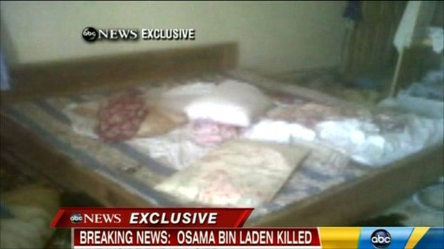 Inside the compound where Bin Laden was found - BBC News