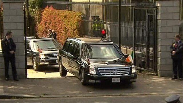 President Obama's 'Beast' car