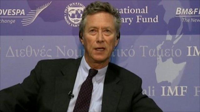 The IMF's Olivier Blanchard