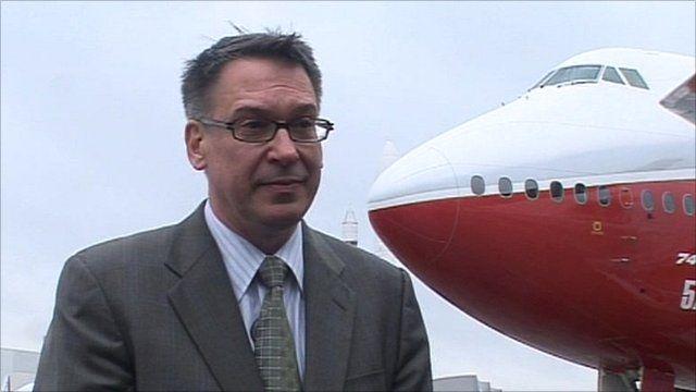 Randy Tinseth, Boeing marketing chief