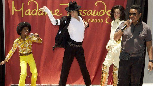 Michael Jackson waxworks