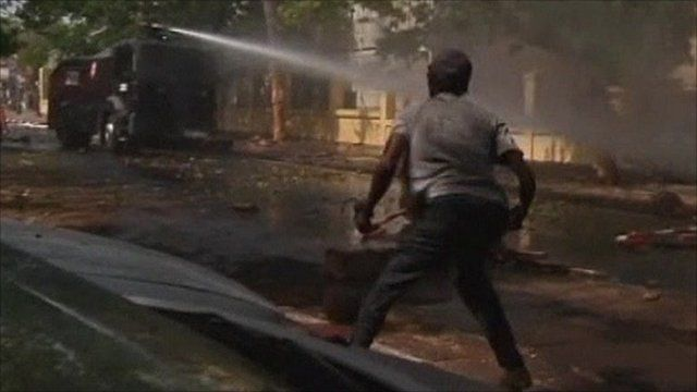 Dakar riots