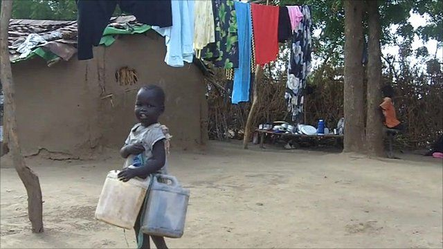 A southern Sudanese refugee child