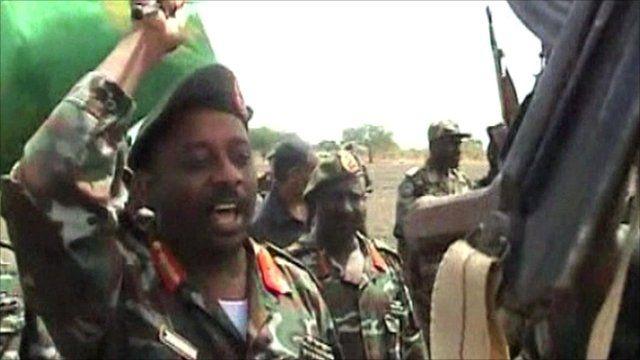 Sudanese soldier