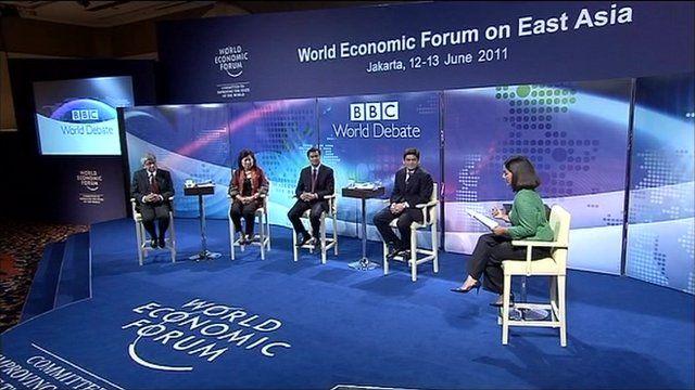 BBC World Debate in Jakarta