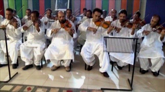 Peshawar orchestra