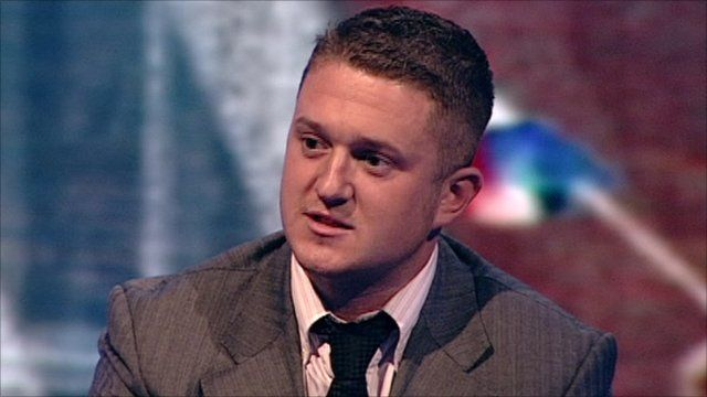 Stephen Lennon, who also goes by the name of Tommy Robinson