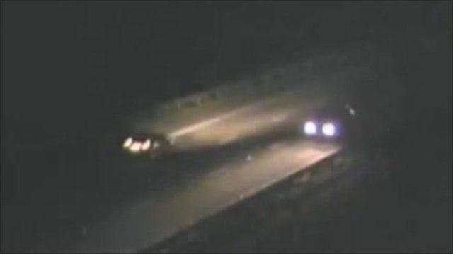 CCTV image of driver