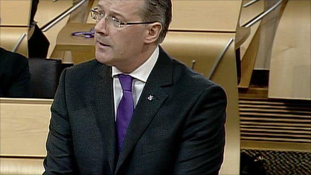 Scotland's Finance Secretary John Swinney