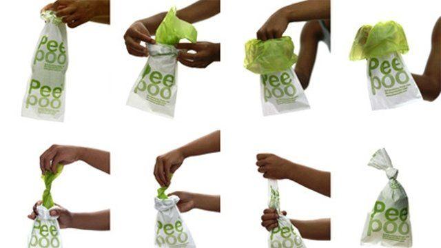 Peepoo bags