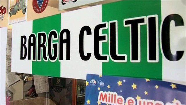 Bar in Barga, Italy