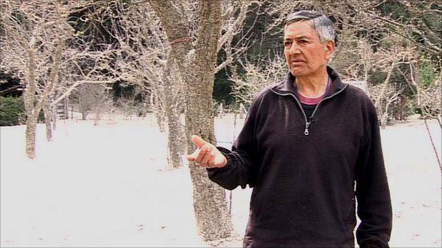Juan Chabol from Villa La Angostura in Argentina Patagonia