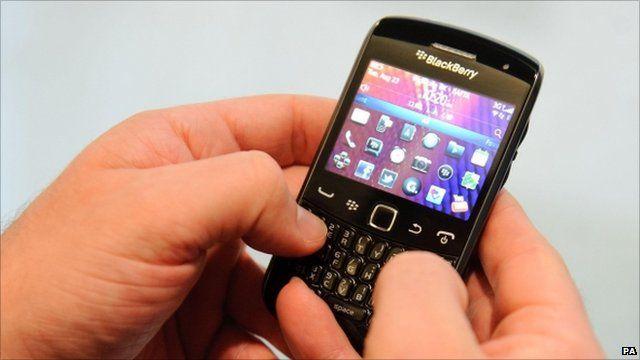 Blackberry phone