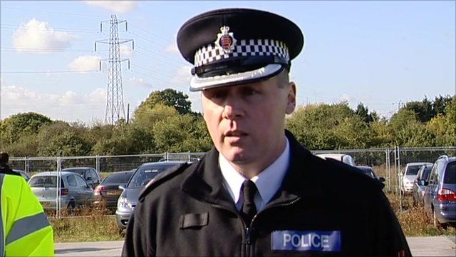 Superintendent Trevor Roe of Essex Police