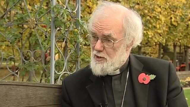 The Archbishop of Canterbury, Rowan Williams
