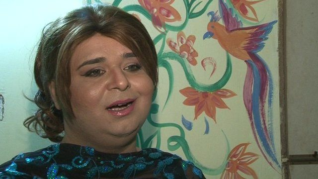Pakistani transsexual