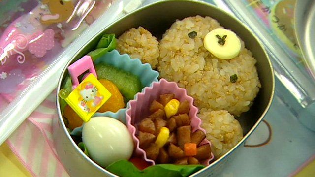 close up japan 39 s amazing lunchboxes bbc news. Black Bedroom Furniture Sets. Home Design Ideas