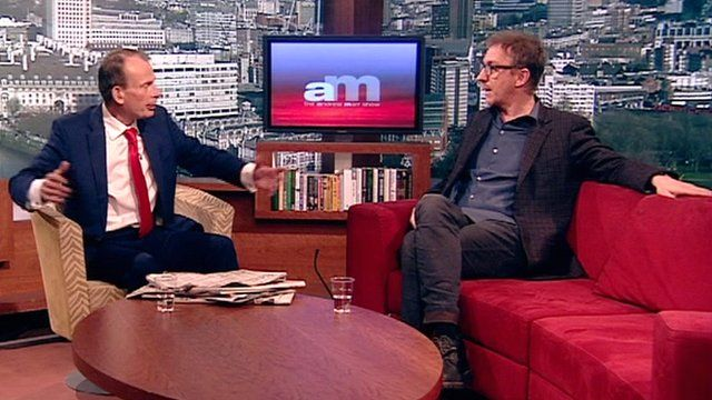 Andrew Marr and David Thewlis on The Andrew Marr Show