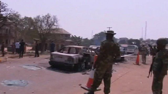 Security forces in Ebonyi
