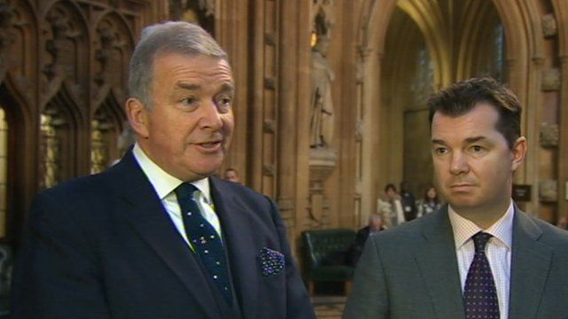 Lord West and Guy Opperman