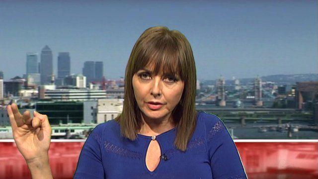 Carol Vorderman talks to BBC News.