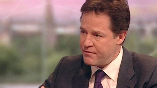 Deputy Prime Minister Nick Clegg, says 'Rape is rape', 'No means no', and it is important for teenagers to have an understanding of this.