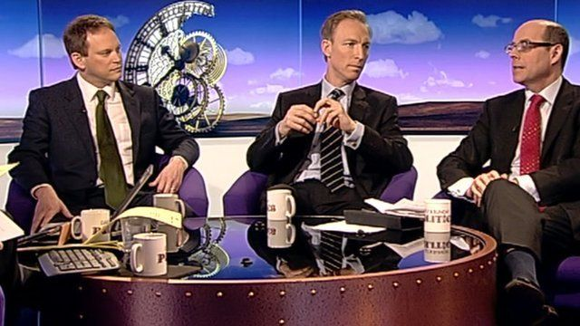 Grant Shapps, Jim Murphy and Nick Robinson
