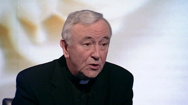 The head of the Catholic Church in England and Wales, Vincent Nichols