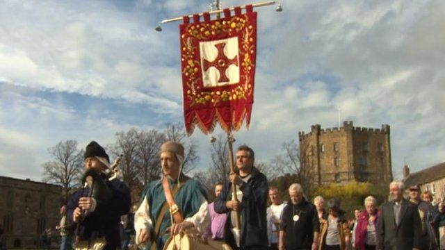 St Cuthbert banner