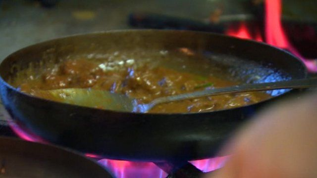 Curry dish in Bradford