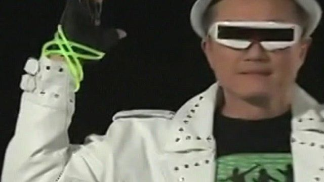 Jim Yong Kim performs in a music video for Dartmouth College, where he is president