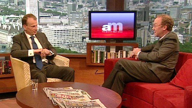 Andrew Marr and Ben Macintyre