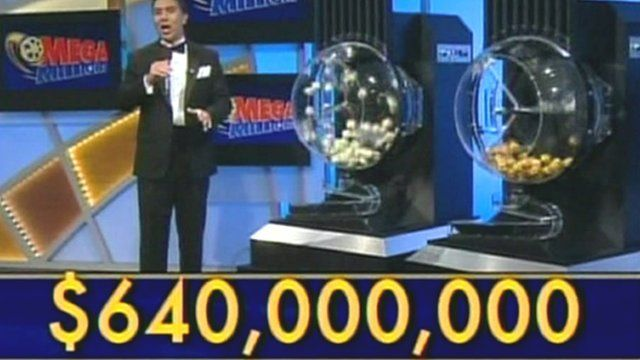 Televised Mega Millions draw