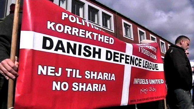 Danish Defence League poster