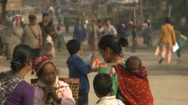 Kachin village