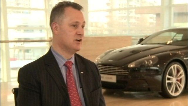 Aston Martin's Matthew Bennett
