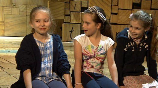 Sophia, Cleo and Eleanor