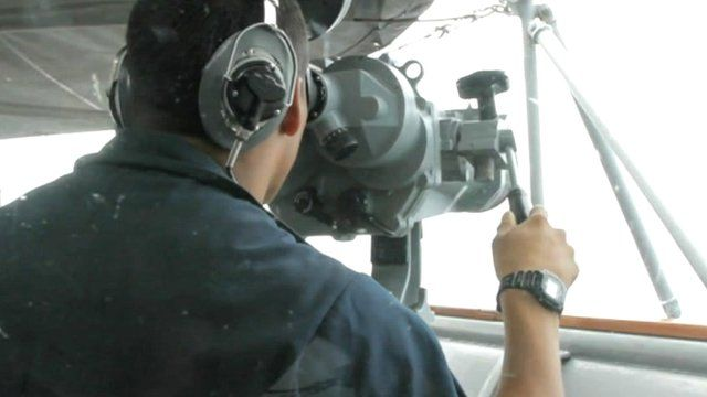 US navy drill in South China Sea