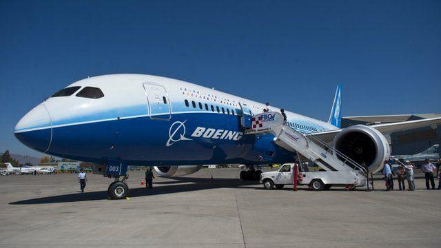 Dreamliner aircraft
