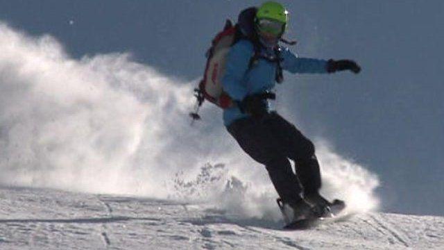 Snowboarder Julia Pickering