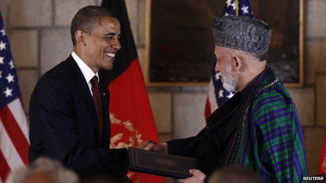 President Obama and President Karzai