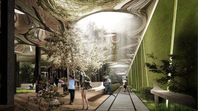 New York's underground park of the future - BBC News