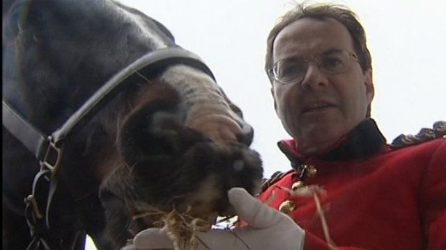 Quentin Letts and horse