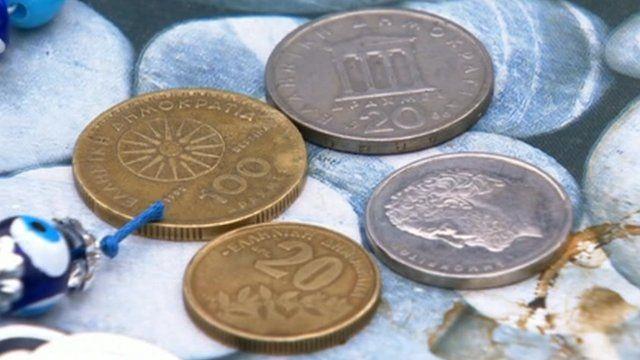Drachma coins