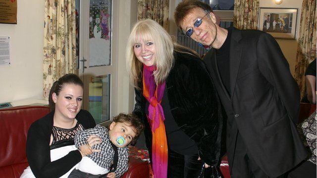 Robin Gibb at Rebecca House in 2008