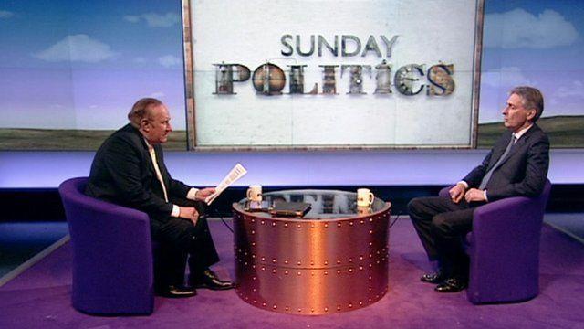 Andrew Neil and Philip Hammond